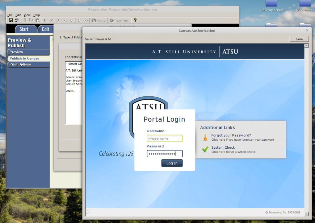 Set Up Respondus 4 0 with Canvas at ATSU : Information Technology